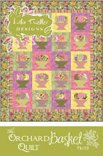 Lila Tueller Designs Orchard Basket Quilt #23 Pattern FREE US SHIPPING