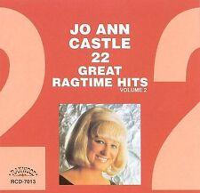CASTLE, JO ANN-22 GREAT RAGTIME HIT CD NEW