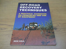 Book. 4WD. Off-Road Recovery Techniques. Practical Handbook on Use of Equipment.
