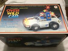 OVER WILD CAR Vintage 80s KUANG WU TOYS Toy Car Taiwan NEW in Box