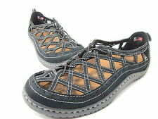 KALSO EARTH INNOVATE TOO SANDAL WOMENS, BLACK, 8 LEFT, 9.5 RIGHT MISMATCHED