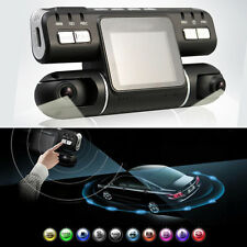360° HD 1080P Dual Lens Car DVR Night Vision G-sensor Camera Recorder Dash Cam