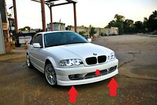 BMW 3 E46 ALPINA LOOK FRONT BUMPER SPOILER / SPLITTER / LIP NEW !