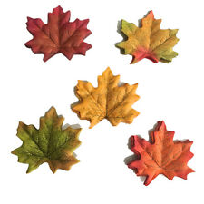 Artificial Fall Silk Leaves Wedding Supplies Autumn Maple Leaves Decorations
