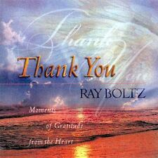 Thank You : Moments of Gratitude from the Heart by Ray Boltz (1998, Hardcover)