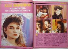 ELLI MEDEIROS =  Coupure de presse 2 pages 1987 !!!