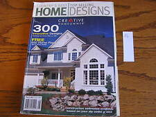 300 Top Selling Designs Homes House Plans Ideas Decor Blueprint Book 2002 B6