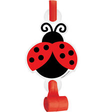 Ladybug Fancy Blowout Favors [8ct] Baby Shower Birthday Party Supplies