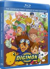 Digimon Adventure Season 1 Complete USA English Import HD Blu-Ray Set (Not DVD)