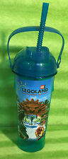 Lego Legoland California Resort Water Park Glittery Blue Water Drinking Bottle