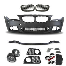 Set BMW F10 F11 LCI Built 10-   Sport Looks Bumper front Fog+Kidneys