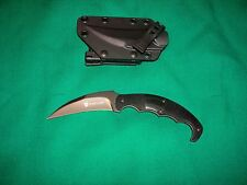 New Browning Fixed Blade Knife Black Label Fear Factor BR141BL