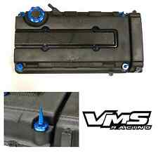 VMS BLUE ENGINE DRESS UP KIT B16 B18 VALVE COVER INSERT WASHER SEAL SPIKE NUT 2