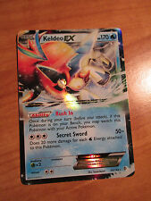 PL Pokemon KELDEO EX Card BOUNDARIES CROSSED Set 49/149 Black and White BW Rare