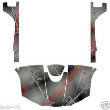 NG Racing WRAP QUAD Yamaha Rhino 700/660/450 BARBED WIRE GREY 2004-2013