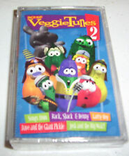 VeggieTales: Veggie Tunes, Vol. 2 audio cassette for Kids 1998 Brand New