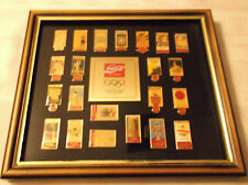 Coca Cola 22 Olympic Pin Set Summer Games Limited Edition