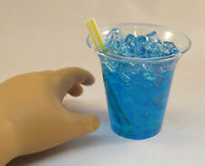 "Slushie - Blue Icee - Doll Food made for 18"" American Girl Dolls / bjd"