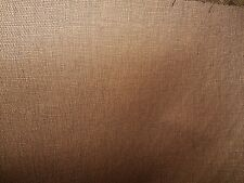 BROWN COPPER BLACK  WOVEN THREAD DRAPERY UPHOLSTERY  FABRIC