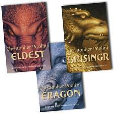 Inheritance Cycle Collection 3 Books Set (Brisingr,Eldest,Eragon) AUS