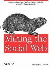 Mining the Social Web: Analyzing Data from Facebook, Twitter, LinkedIn, and Oth