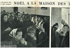 Coupure de presse Clipping 1958 (8 pages) Noel à la maison des Lys