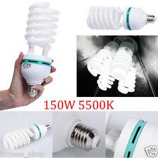 E27 220V 150W 5500K Photo Video Birne Beleuchtung Fotografie Studio Licht Lampe