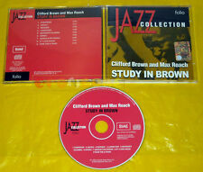 CD - JAZZ COLLECTION  Clifford Brown and Max Roach Study in Brown •••• USATO