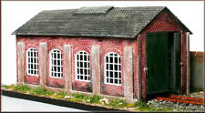 Knightwing PM112 Single Road 00 Gauge Engine Shed Plastic Kit 1st Post