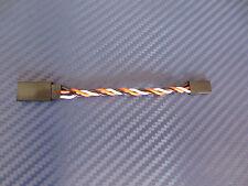Servoverlängerung Robbe Futaba 7,5cm 0,34mm² Servokabel Kabel