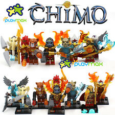 Lot of 8 sets Chima Series  minifigures building toys all new in bags