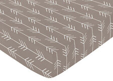 Fitted Crib Toddler Sheet for Sweet Jojo Outdoor Adventure Bedding - Arrow Print