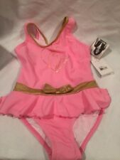 Baby Phat Swimsuit One Piece Bathing Suit Toddler Girls 4t Pink Swimsuit NEW