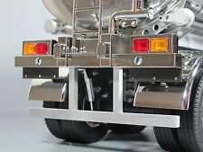 Rear Aluminum Bumper Protector Bar for Tamiya 1/14 R/C Semi Tank Trailer Flatbed