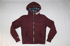 SUPERDRY WARM QUILT-LINED ZIPPED HOODED JACKET M MEDIUM