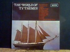 THE WORLD OF T.V. THEMES  Various LP  Monty Python theme etc    Lovely copy !!