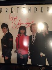 The Pretenders Chrissie Hynd Signed Autograph 80s Punk LP Authentic No Vinyl