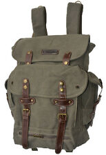 Eurosport World War II Military Style Olive Green Color Backpack Bag