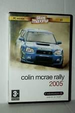COLIN MCRAE RALLY 2005 GIOCO USATO OTTIMO PC DVD VERSIONE ITALIANA GD1 42507