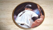 "1991 Baseball Mini Plate - ""Mick / 7"" - Mickey Mantle - New York Yankees - Club"