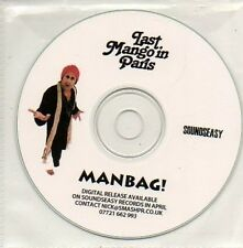 (868D) Last Mango In Paris, Manbag! - DJ CD
