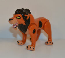 "RARE FOREIGN 1994 Scar 4"" Wind-Up Action Figure McDonald's Disney Lion King"