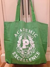 Victoria's Secret Top of the Class Academic Green Shopping Book Beach Gym Bag