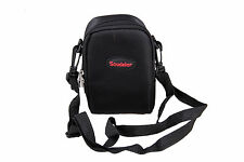 Black Nylon Camera Case Bag For Panasonic DMC TZ70 TZ57 TZ60 TZ55 TZ40 TZ35