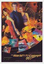 James Bond 2016 Classics The World Is Not Enough Gold Parallel Card Selection