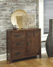 Ashley Furniture Accent Cabinet Rustic Accents Brown T500-430 Cabinet NEW