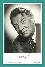 CARL WERY | Schauspieler | Original-Autogramm auf Rüdel-Starpostkarte