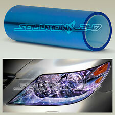 """12""""x48"""" Chameleon Neo Blue Color Headlight Taillight Fog Light Vinyl Tint (G)"""