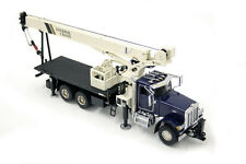 TWH - Peterbilt National Crane 1300H Boom Truck. In Blue. 1:50th Discontinued.