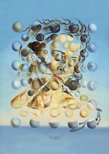 Salvador Dali spherical Galatea print canvas reproduction  8X12 poster